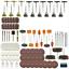 350-Stueck-Drehwerkzeug-Kit-Schleifset-Polierset-Drill-Zubehoer-Schleifer-Satz Indexbild 1