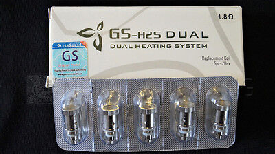 5 X Gs Bd Coil Für Ego Ii Twist Mega Kit Gs V-core 3 Atomizer 1.8/2.0/2.2ohm