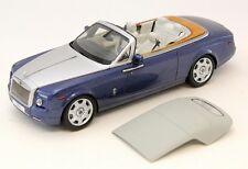 KYOSHO Rolls Royce Phantom Drophead Coupe Metropolitan Blue 1:18*New Item*