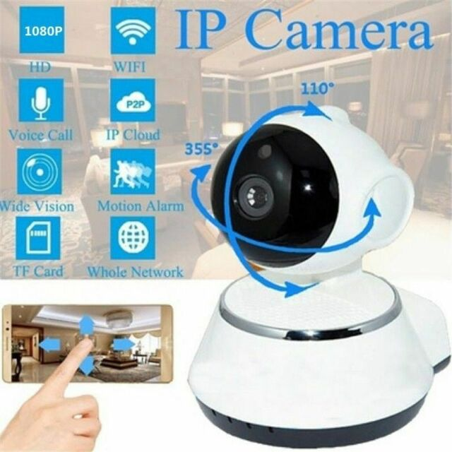 Mini Wifi IP Camera SP009C USB Wireless Network CCTV Security Camera BT#