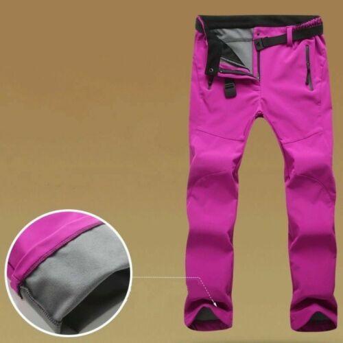 Men Women Soft Shell Cargo Trousers Tactical Pants Combat Mountaineering Outdoor