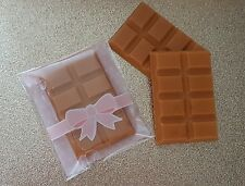 TOFFEE CARAMEL scented 8 piece bar wax melts candle tart oil electric burner