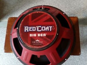 Eminence Red Coat Big Ben Speakers