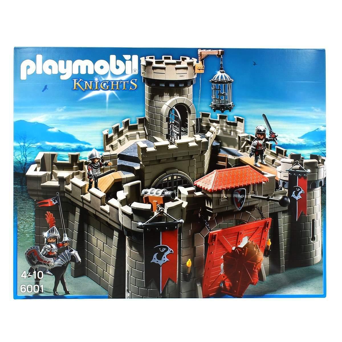 Playmobil Knights Castillo de  los Cabtuttieros del Halcón  marchi di stilisti economici