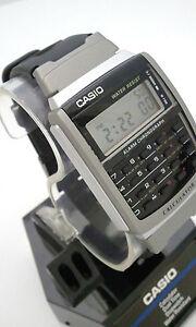 CASIO-VINTAGE-Calculator-Watch-CA56-1-Dual-time-Stopwatch-CA56-new
