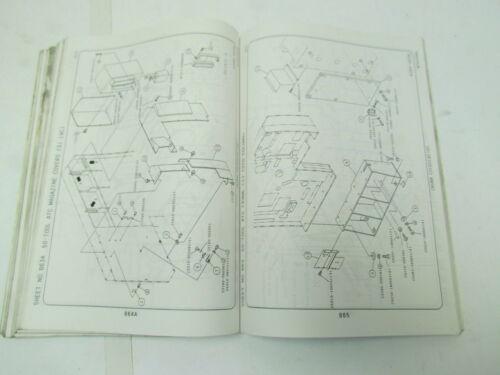 Okuma MC-50VA Parts Book 4th Edition pub no ME15-044-R4 July 1994