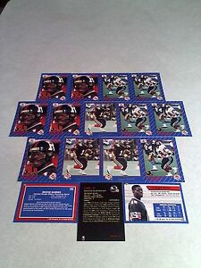 Reggie-Barnes-Lot-of-32-cards-5-DIFFERENT-Football-CFL
