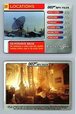Arkangel Facility #23 Locations 007 Spy Files 2002 James Bond Trade Card C1858