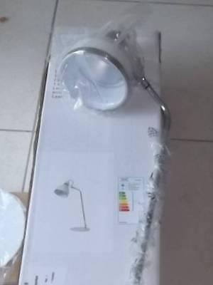 Weiss 1-flammig Mit Drehbarem Arm 65cm Leuchten & Leuchtmittel Büro & Schreibwaren Gewissenhaft Khg Led Schreibtisch Leuchte Silber