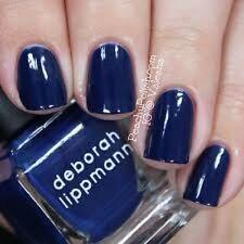 1 New Deborah Lippmann MINI SIZE ROYAL BLUE My Prerogative 27oz/8 ml
