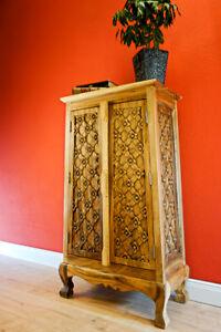 100cm in legno massello mobile comò soggiorno PIASTRA ALTA CON PORTA ...