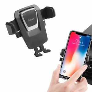 360° Universal Gravity Car Air Vent Mount Holder Cradle For iPhone XS/XS Max/XR