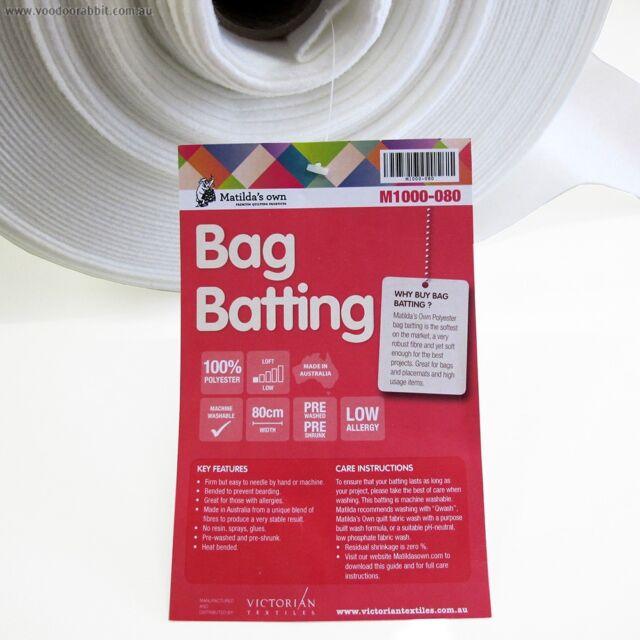 Wadding for Bags Making Matilda's own M1000-080  bag making crafts