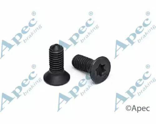 Brake Disc Screw Rear ADS8 APEC Replaces 1220306161,1220306166B 10 pack
