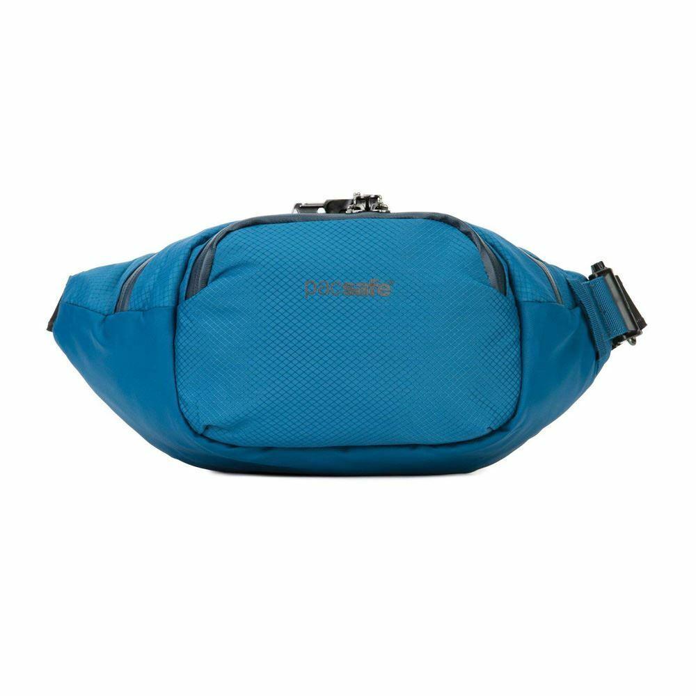 PACSAFE venturesafe x Marsupio AntiTheft Cintura BorsaHip Borsa, 4L, in acciaio blu