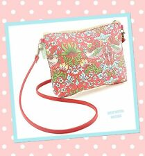 """SO CHIC VINTAGE STYLE SMALL SHOULDER BAG """" STRAWBERRY THIEF""""  BY WILLIAM MORRIS"""
