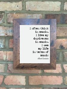 A4-Albert-Einstein-Quote-Print-Unframed-Music-Wall-Art-Minimalist