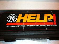 GE Help! 3-5908 Full Power 40 Channel 2-way Emergency/Information CB Radio +Case