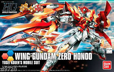HGBF 1/144 Wing Gundam Zero Honoo Gundam Build Fighters