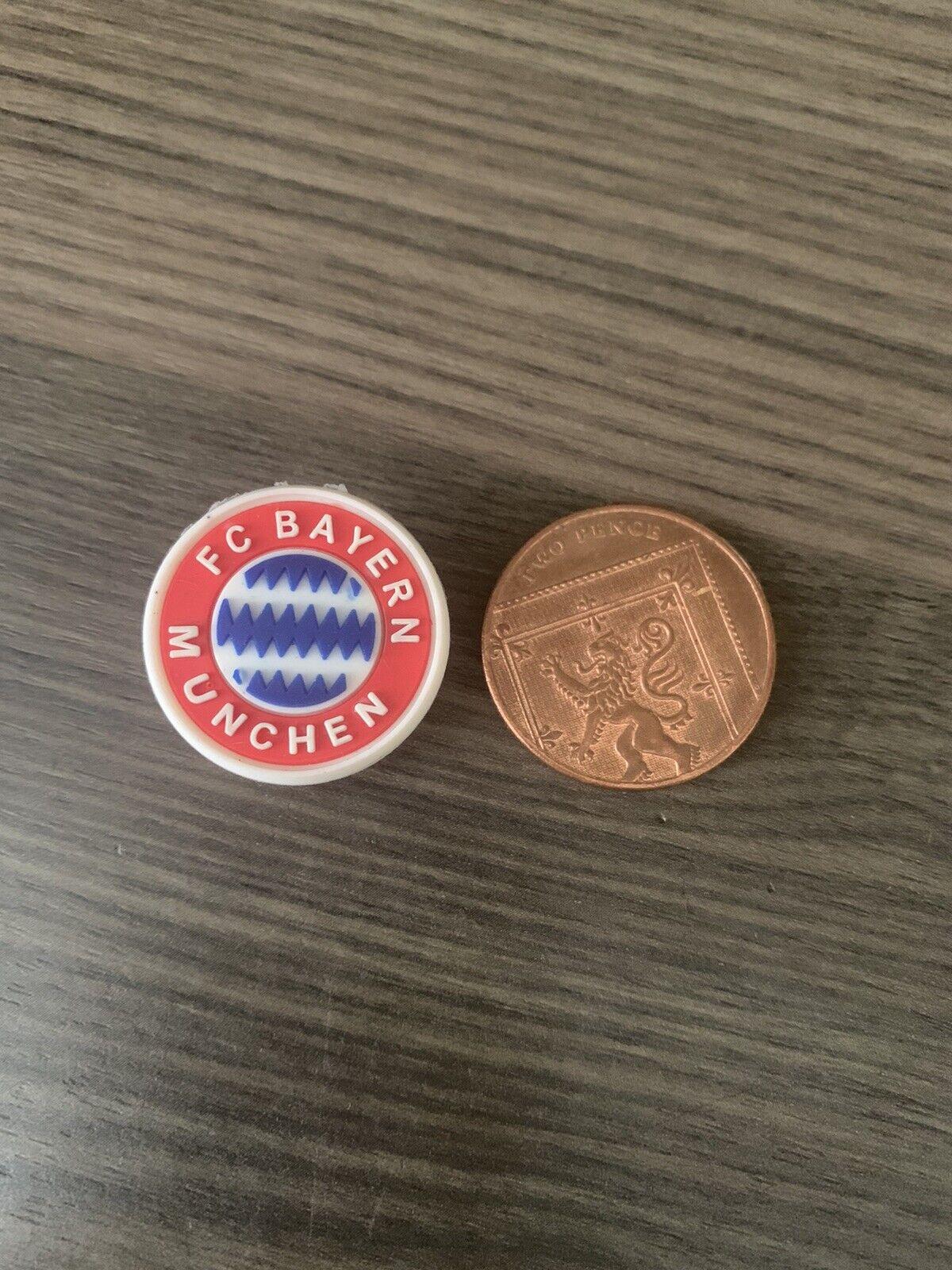 Croc Bayern Munchen Football Shoe Charm