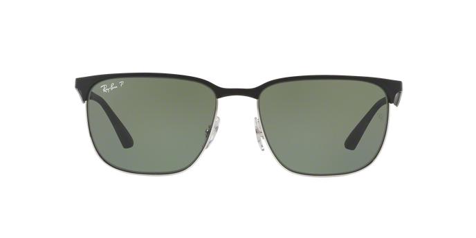 e4dea0b48a Sunglasses Ray-Ban Rb3569 9004 8g 59 Silver Top Black for sale online