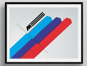 BMW-M-Sport-Art-Print-Ultimate-Driving-Machine-M3-M4-M5-M6-X5-Roundel-Z4-Poster