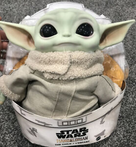 Mattel Star Wars IN HAND * The Mandalorian The Child Baby Yoda 11-Inch Plush