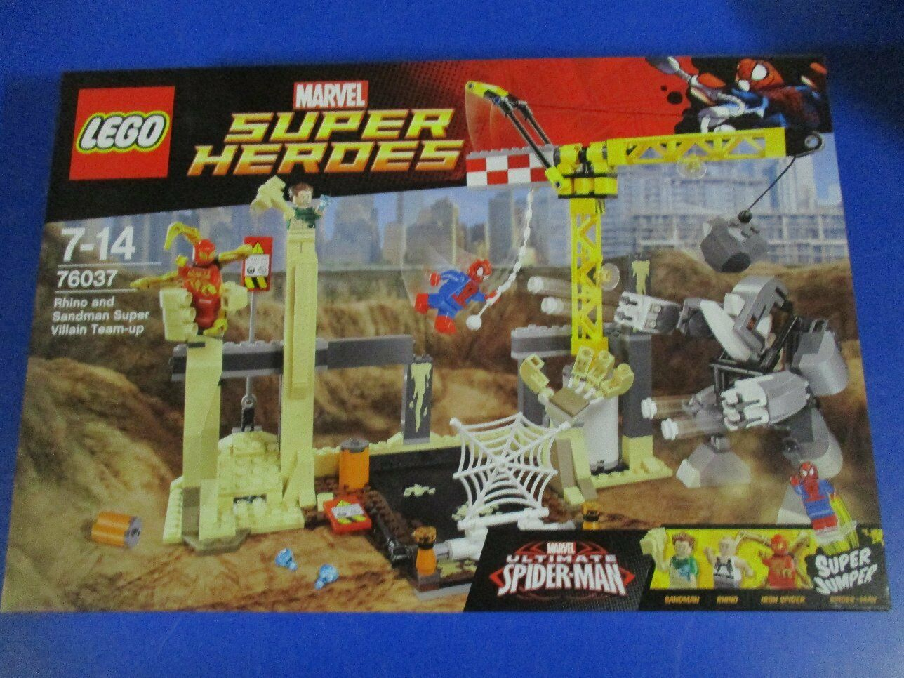 LEGO Super Heroes 76037 Rhino und Sandman NEU OVP