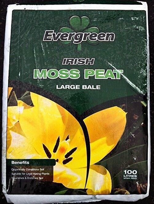 1 Litre Quality Irish Peat Moss - Carnivorous Plant Compost or Soil Amendment