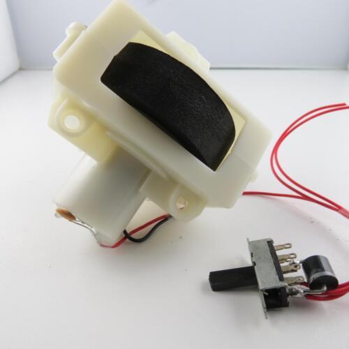 Antriebsmotor mit Moosgummi Rolle Motor Laufband Fließband