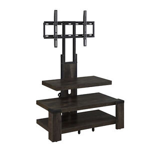 Whalen 3 Shelf Tv Stand With Mount For Tv S Up To 46 Ebay