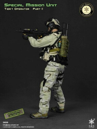USA Exclusive Operator OD Green Plate Carrier /& Pouch Set 1//6 scale toy SMU