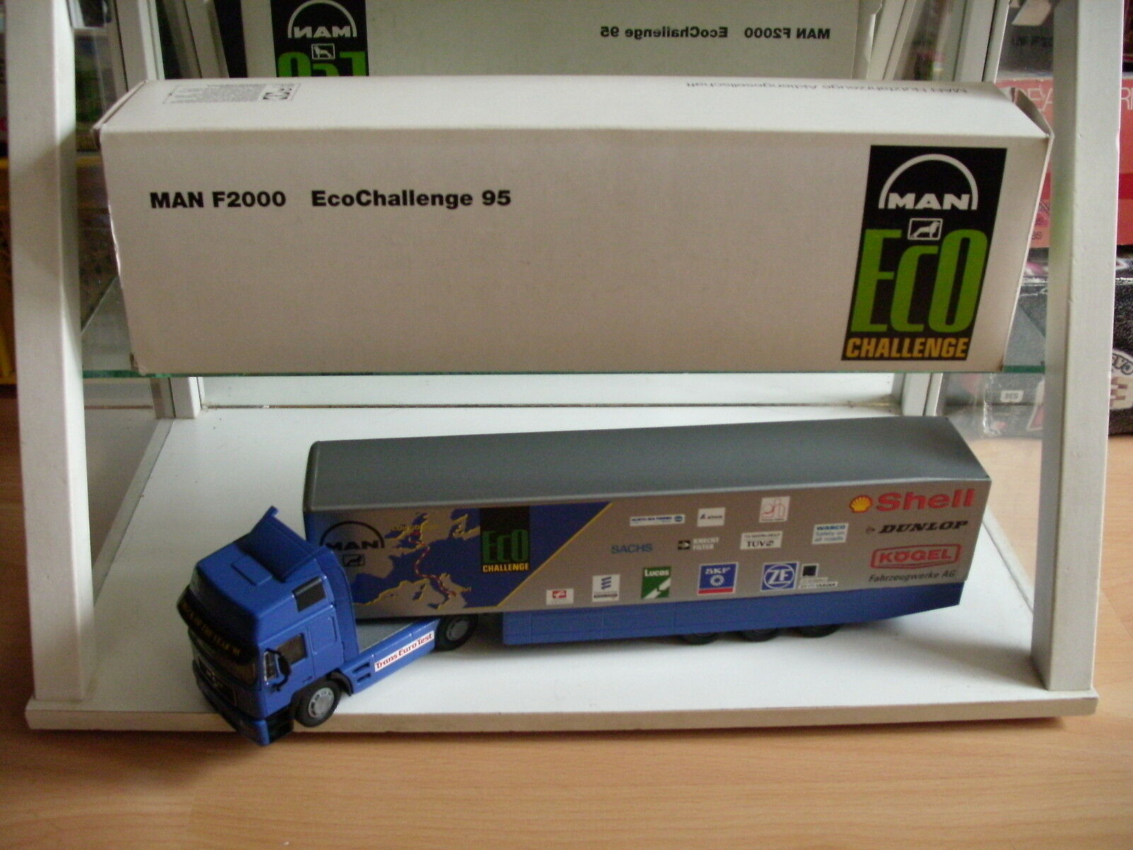 Conrad MAN F2000 Eco Challange 95 In bluee Grey on 1 50 in Box