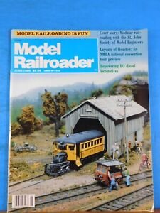 Details about Model Railroader Magazine 1989 June Repowering HO diesel  locomotives Modular RRi