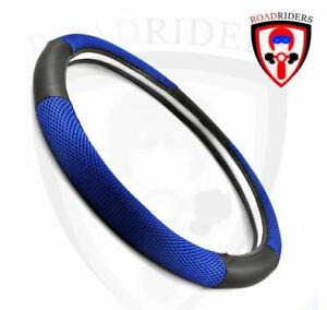 Universal Automotive Furious Steering Wheel Cover - BLUE