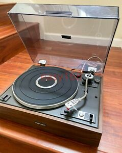 Pioneer-PL-12X-Belt-Drive-Auto-Return-Turntable-w-ADC-Japan-Tested-Working
