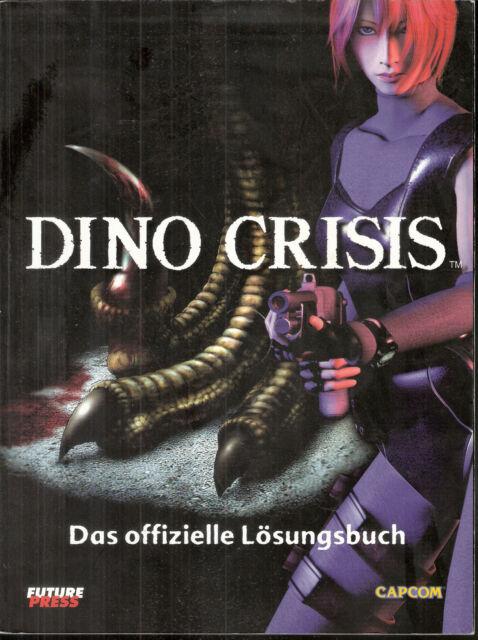 DINO CRISIS  Offizielles Lösungsbuch  in Deutsch im guten Zustand keine Einrisse