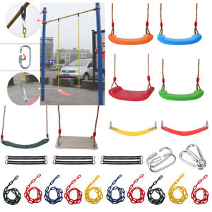 Kids-Adult-Unisex-Durable-Swing-Seat-Set-Accessories-Playground-Outdoor-Play-Fun