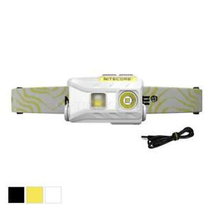 NITECORE-NU25-360-Lumen-White-Red-High-CRI-LED-Rechargeable-Headlamp-White