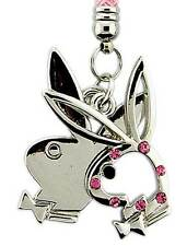 Playboy Handyanhänger Double Bunny Pink Mobile Phone Charm