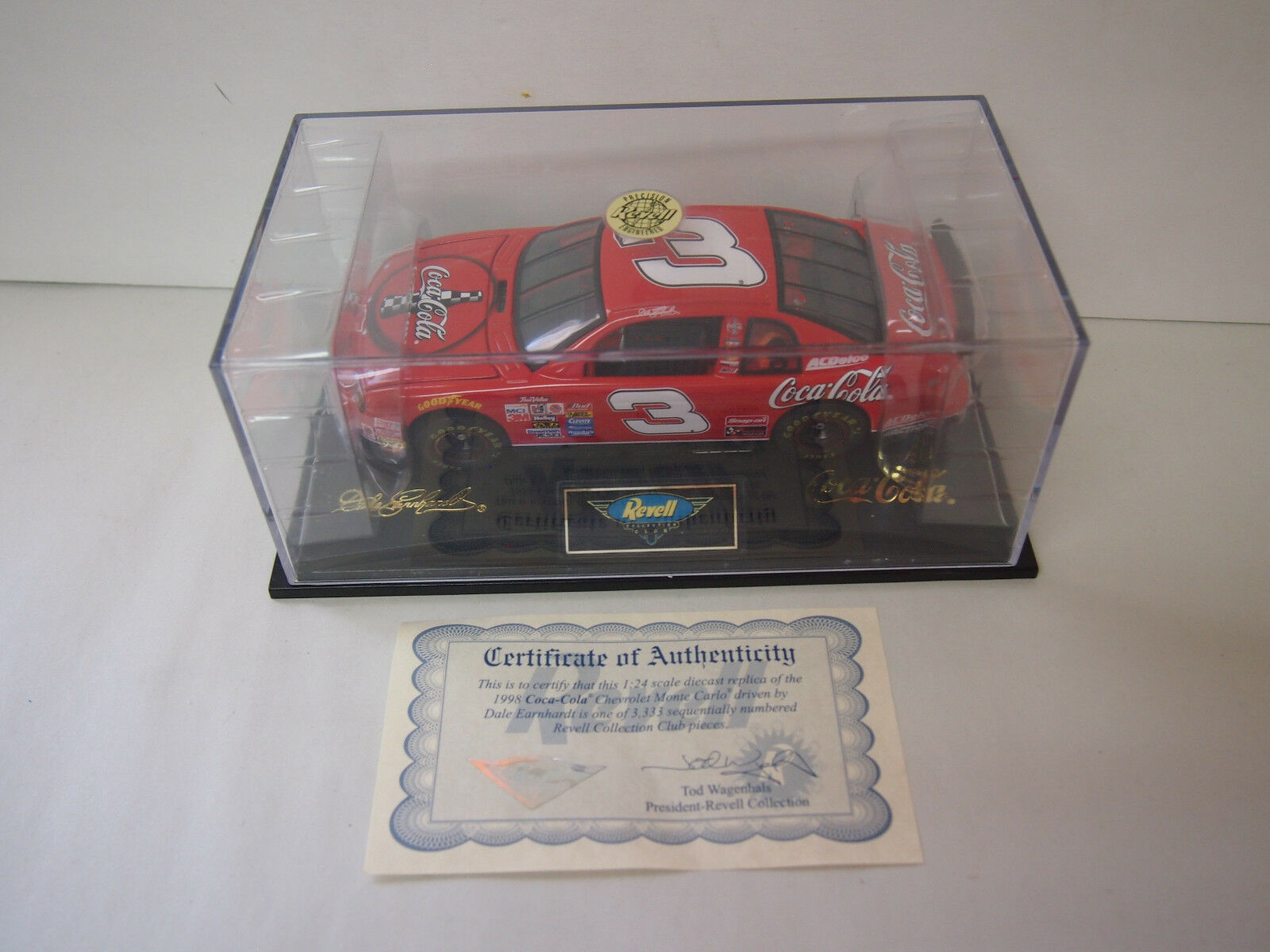 Revell Collection Club Dale Earnhardt  3 GM Coca-Cola  1 24 MINT