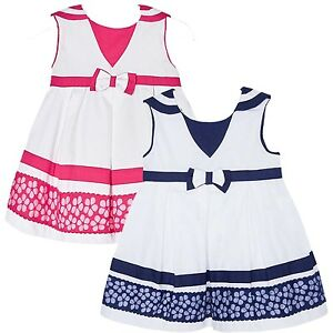 45c43f21c803 Mayoral Baby Girls 3M-24M Shher Floral Border Nautical Resort Dress ...