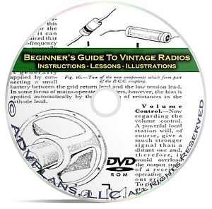 How-to-Fix-amp-Repair-Vintage-Old-Time-Radios-Beginners-Guide-Books-CD-C10