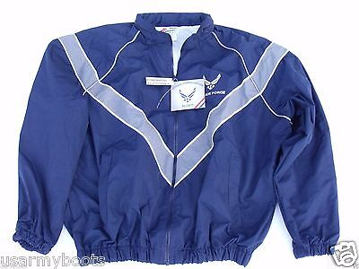 Air Force Military Physical Fitness Training PT Work Out Gym Sweat Jacket G.I