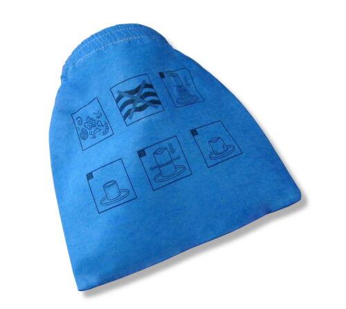 1 Textilfilter Stoffbeutel passend für Einhell BT-VC 1250 S  Filter
