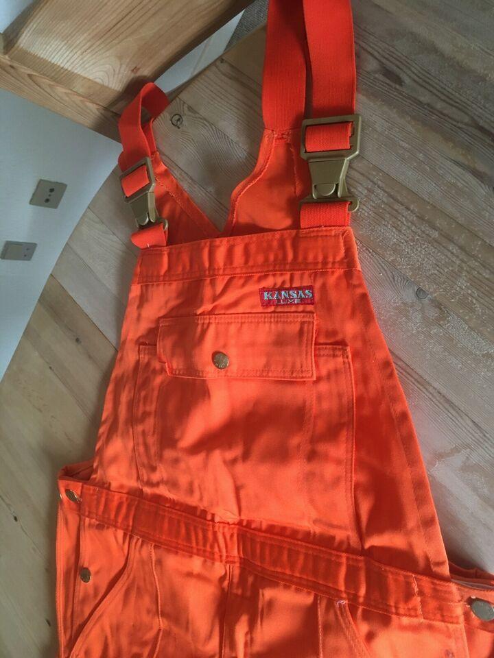 Kansas Luxe Overall orange