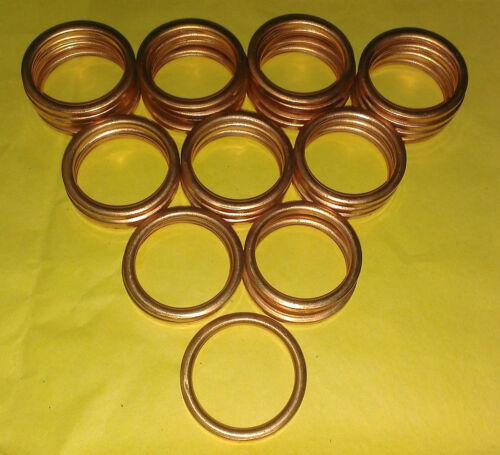 EXHAUST MANIFOLD GASKET RINGS ATC125 TRX125 CRF150 ATC185 ATC200 TRX200 XR200 C0