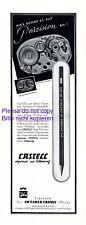 Faber Castell Zeichenstift Reklame 1941 Werkfoto Junghans Uhrwerk +