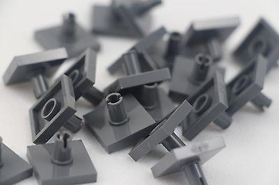 LEGO LOT OF 50 DARK BLUISH GREY 1 X 4 TILES PIECES PARTS