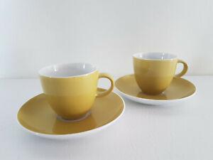 12tlg Espressotassen mit Porzellan Teller Kaffeegläser Kaffeetassen Mokkatassen